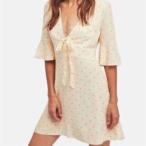 Free People Mini Dress Size 6 Cream